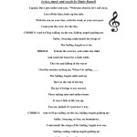 SAILIN' ANGELS lyrics by Shake Russell